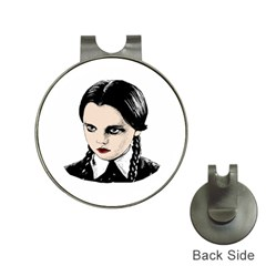 Wednesday Addams Hat Clips with Golf Markers