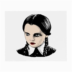 Wednesday Addams Small Glasses Cloth (2-Side)