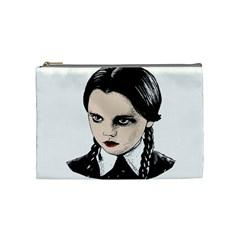 Wednesday Addams Cosmetic Bag (Medium)