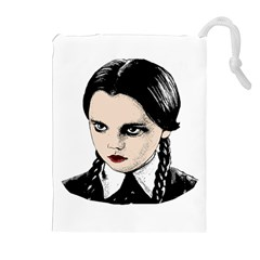 Wednesday Addams Drawstring Pouches (Extra Large)