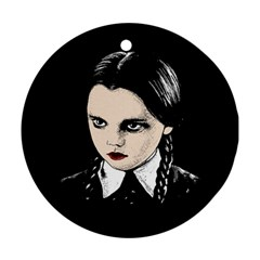 Wednesday Addams Ornament (Round)