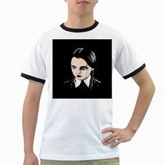 Wednesday Addams Ringer T-Shirts