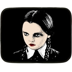 Wednesday Addams Fleece Blanket (Mini)