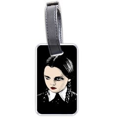 Wednesday Addams Luggage Tags (One Side)
