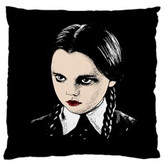 Wednesday Addams Large Cushion Case (two Sides)