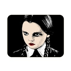 Wednesday Addams Double Sided Flano Blanket (Mini)