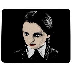 Wednesday Addams Jigsaw Puzzle Photo Stand (Rectangular)