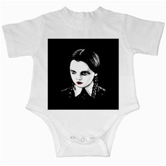 Wednesday Addams Infant Creepers
