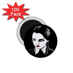 Wednesday Addams 1.75  Magnets (100 pack)