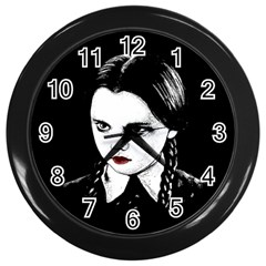 Wednesday Addams Wall Clocks (Black)