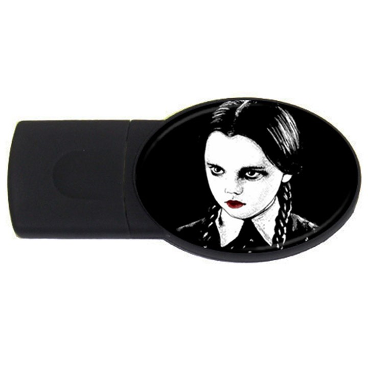 Wednesday Addams USB Flash Drive Oval (4 GB)