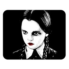 Wednesday Addams Double Sided Flano Blanket (Large)