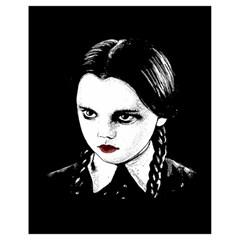 Wednesday Addams Drawstring Bag (Small)
