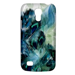Flowers And Feathers Background Design Galaxy S4 Mini