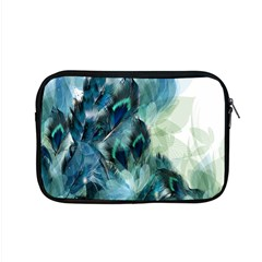 Flowers And Feathers Background Design Apple Macbook Pro 15  Zipper Case