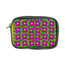 Bohemian Big Flower Of The Power In Rainbows Coin Purse