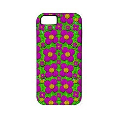 Bohemian Big Flower Of The Power In Rainbows Apple iPhone 5 Classic Hardshell Case (PC+Silicone)