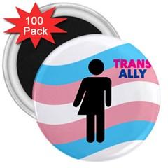 Transgender  3  Magnets (100 pack)