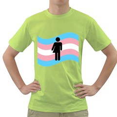 Transgender  Green T-Shirt
