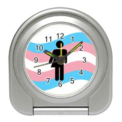 Transgender  Travel Alarm Clocks