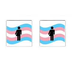 Transgender  Cufflinks (Square)