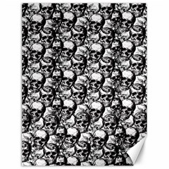 Skulls pattern  Canvas 12  x 16