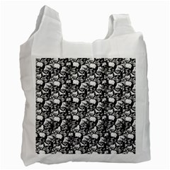 Skulls pattern  Recycle Bag (Two Side)