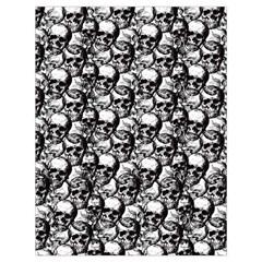 Skulls pattern  Drawstring Bag (Large)