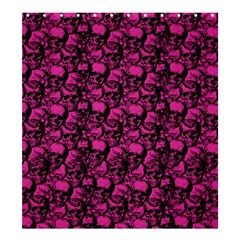 Skulls pattern  Shower Curtain 66  x 72  (Large)