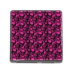Skulls pattern  Memory Card Reader (Square)