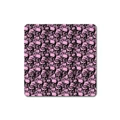 Skulls pattern  Square Magnet