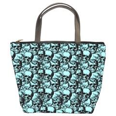 Skulls pattern  Bucket Bags