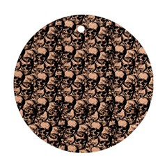 Skulls pattern  Ornament (Round)