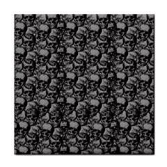 Skulls pattern  Tile Coasters
