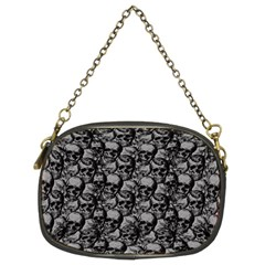 Skulls pattern  Chain Purses (Two Sides)