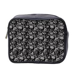 Skulls pattern  Mini Toiletries Bag 2-Side