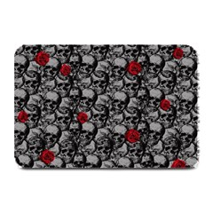 Skulls and roses pattern  Plate Mats