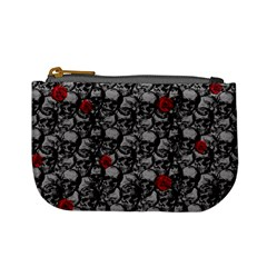 Skulls and roses pattern  Mini Coin Purses
