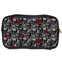 Skulls and roses pattern  Toiletries Bags
