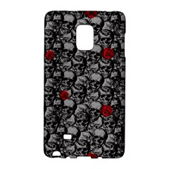 Skulls And Roses Pattern  Galaxy Note Edge