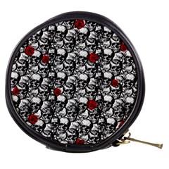 Skulls and roses pattern  Mini Makeup Bags