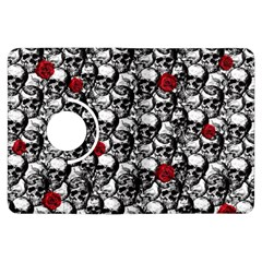 Skulls and roses pattern  Kindle Fire HDX Flip 360 Case