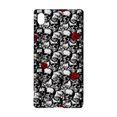 Skulls and roses pattern  Sony Xperia Z3+