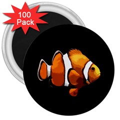 Clown fish 3  Magnets (100 pack)