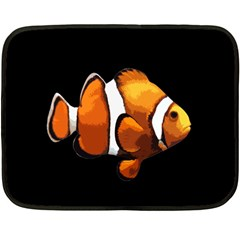 Clown fish Fleece Blanket (Mini)