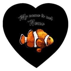 Clown fish Jigsaw Puzzle (Heart)
