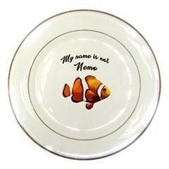 Clown fish Porcelain Plates