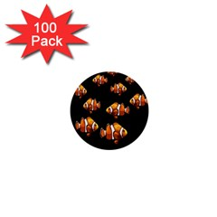 Clown fish 1  Mini Buttons (100 pack)