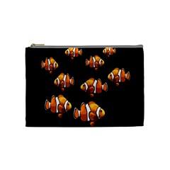 Clown fish Cosmetic Bag (Medium)
