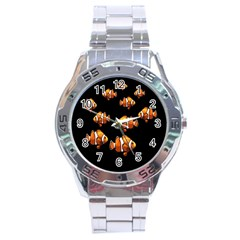 Clown fish Stainless Steel Analogue Watch